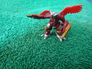 Digimon Burninggreymon official Bandai mini figure