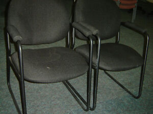 Used office chairs , reception chairs also executive chairs