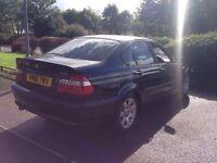 2002 Black BMW 316I Mint runner * LONG MOT * Not 320D 318I Astra Focus St Vrs Petrol diesel CHEAP