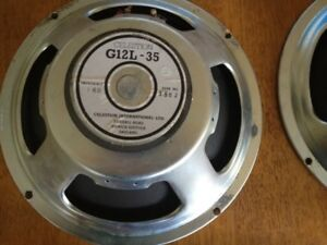 Celestion  G12-L35  speakers  made in good olde England!!