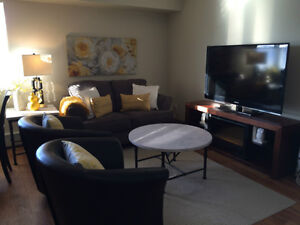 This is a quiet suite  in a beautiful Mature Community space