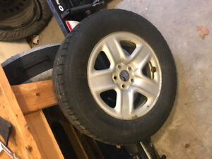 Winter tires for sale ( steel rims)