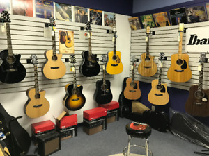 New and Used Acoustic Guitars