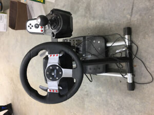 Logitech Video Game Steering Wheel