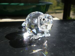 Swarovoski Crystal Beaver Figurine Kitchener / Waterloo Kitchener Area image 2