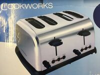 COOKERWORKS TOASTER!! Amazing condition