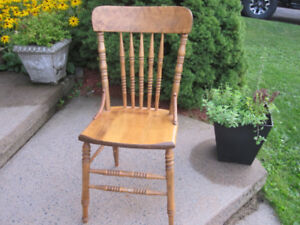 Kitchen Hardwood Table Chair