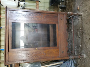 Antique '' cabinet
