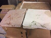 Tozzetto tiles 20cm x 20cm ( two boxes for £5)