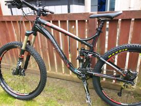 Trek full suspension mountain bike