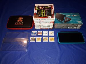 **Nintendo 2Ds XL Super Mario Bundle w 9 Games!! **