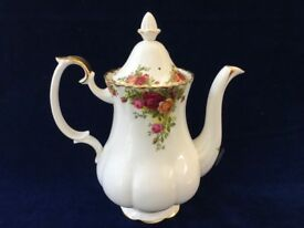 Royal Albert Country Roses Large Coffee Pot