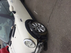 Mini Cooper 2007 convertible..... can include  parts to fix