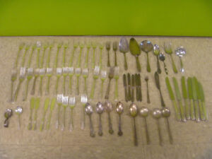 Today's Special: Silver Plated Cutlery 50 Cents Each Or Less