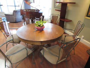 Table antique ronde
