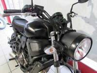 YAMAHA XSR700 ABS IN TECH BLACK. FULL POWER VERSION 687cc CP2 RETRO MT-07...