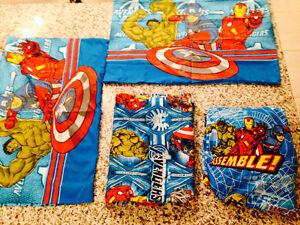 Avengers sheet 4 pcs Twin Size