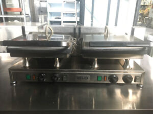 COMMERCIAL DOUBLE GRILL FOR SALE
