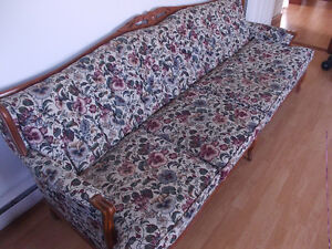 Antique Tufted Couch