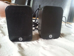 HP LCD speakers