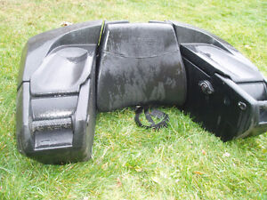 kimpex atv rear seat with heated grips 514 591 6188