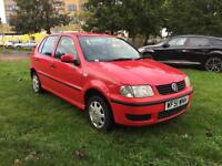 Volkswagen Polo 1.0 2001MY E, Full Service History and Long MOT
