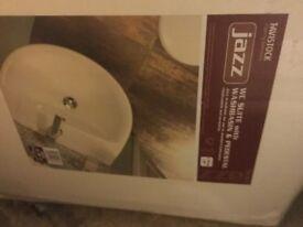 Brand new bathroom basin with pedestal £20