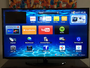 SAMSUNG SMART LED TV SERIES 5 (UN50EH5300F) +  New Wall Stand