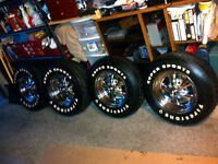 """Set of 15"""" Fire Stone Supper Sport Tires"""