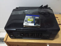 Like New Epson XP-430 All-in-One Printer w/ New ink cartridge