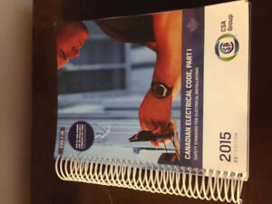 CEC 2015 Canadian Electrical Code Book