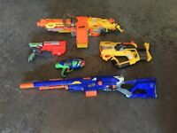 Nerf Guns Package Deal (NO Bullets Included)