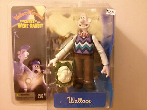 Mcfarlane Wallace & Gromit Curse of the Were Rabbit  Wallace fig