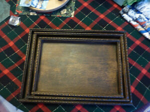 Vintage Handmade Pre-War (1930's) Wood Trays - Set of 3