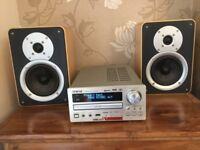 TEAC CRH255 Hi Fi -CD/DAB/MP3 Plus TEAC LSH250 SPEAKERS