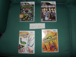 Lot of  Wii Games