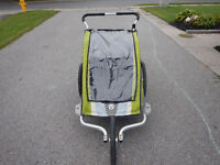 Chariot Double Stroller and Bike Carrier