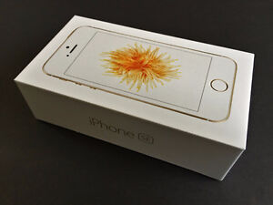 brand new sealed iPhone SE 16 gb Gold with Factory Unlock
