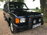 2000 W LAND ROVER DISCOVERY 2.5 TD5 GS 7STR 5D 136 BHP DIESEL