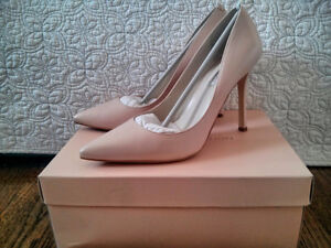 Nude BCBGeneration leather pumps/heels 4""