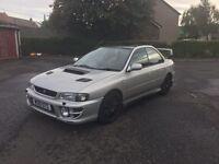 2000 Subaru Impreza UK Turbo mot Aug 17 swap/sell
