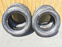 New Price - Set of 275/60R20 Goodyear Wrangler