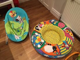 Baby bouncer and baby nest