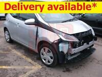 2015 Toyota AYGO 1.0 VVT-i x-play DAMAGED REPAIRABLE SALVAGE