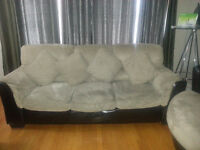 Sofa, Love Seat and Revolving Chair
