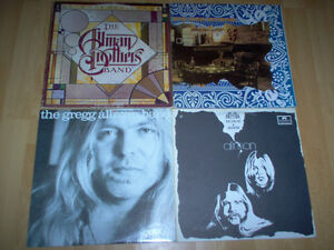 lp by Allman Brothers band reduce price