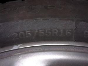 "16"" Mag Wheels off a Mazda-3"