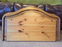 Solid pine headboards for single bed