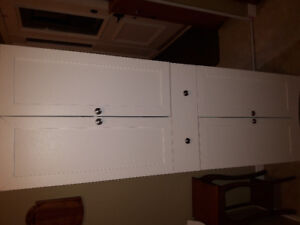 White Pantry or Storage Cabinet