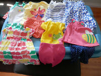 Baby girl summer outfits 0-3 months